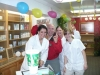 Patient Richard B. likes our cute staff!